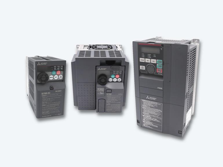 Mitsubishi Antriebssysteme | FR-A800 FR-F800 FR-D700 FR-E700